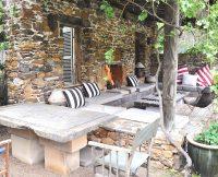 Stone Poolhouse